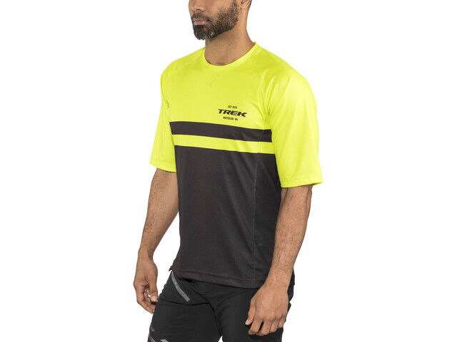 Bontrager Rhythm Tech T-shirt Heren, volt/black